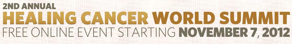 Healing World Cancer Summit