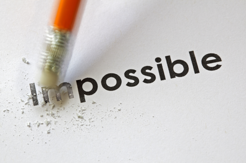 From impossible to the possible