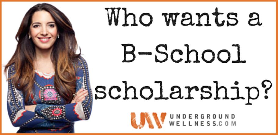 Marie Forleo Scholarship